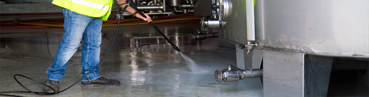 High pressure washing with water recovery.  Grease removal overflow pressure washing service spillage oil, cooking grease spillage.
